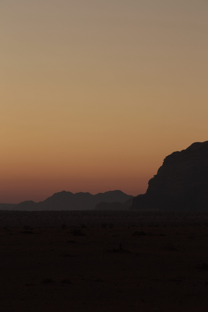Tramonto nel Wadi Rum II