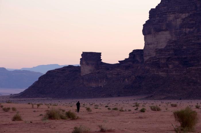 Alba nel Wadi Rum I