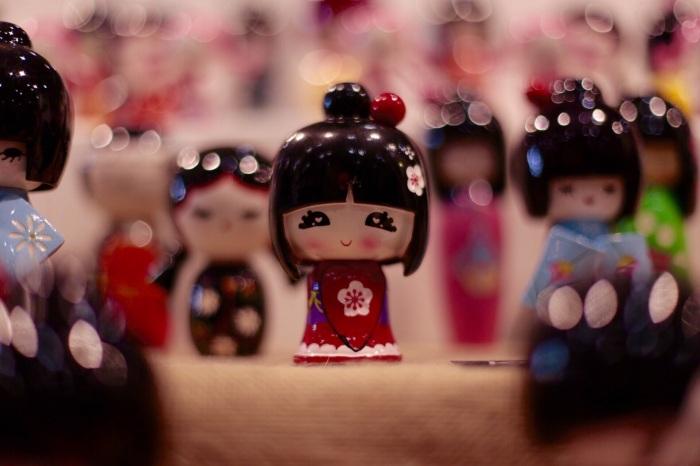 La bambolina giapponese