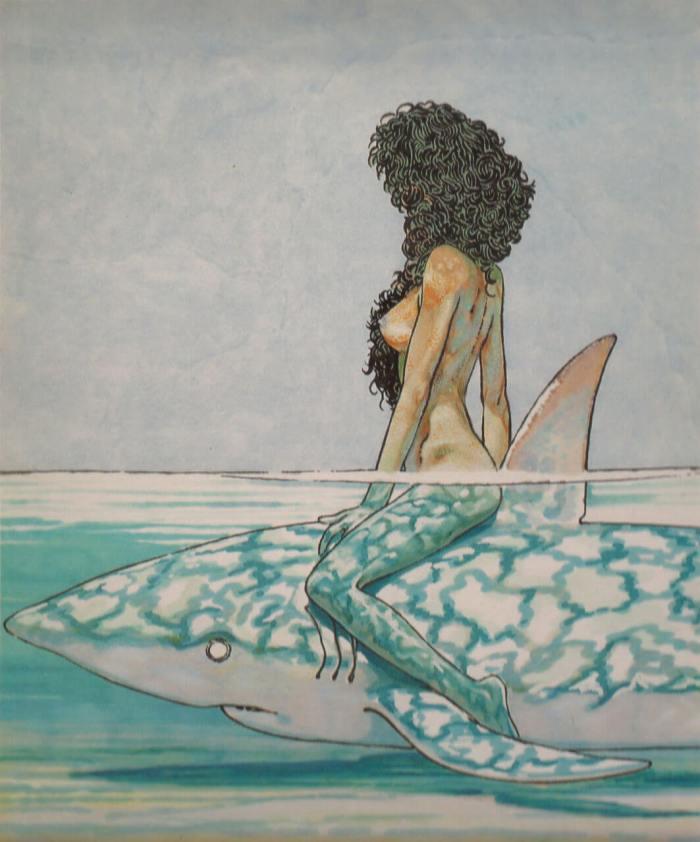 Andrea-Pazienza-Betta-sullo-squalo-1981