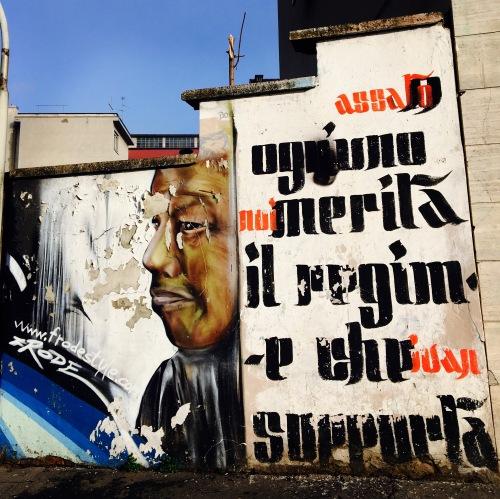 Ognuno merita il regime che supporta