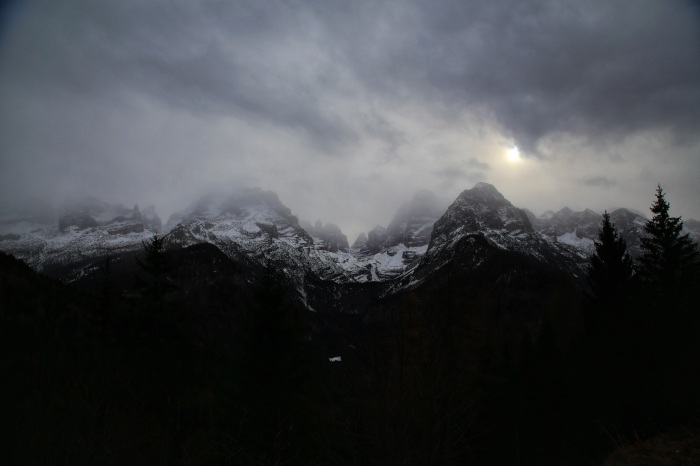Neve di montagna